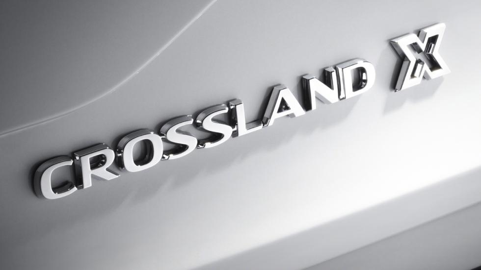 Opel Crossland X denominación