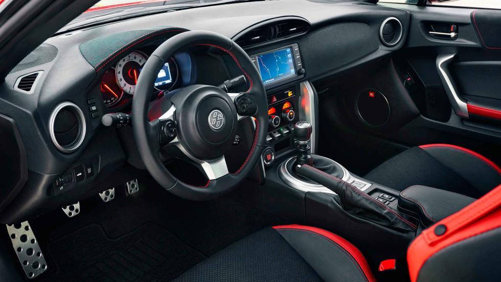 prueba nuevo toyota GT86 2017 interior