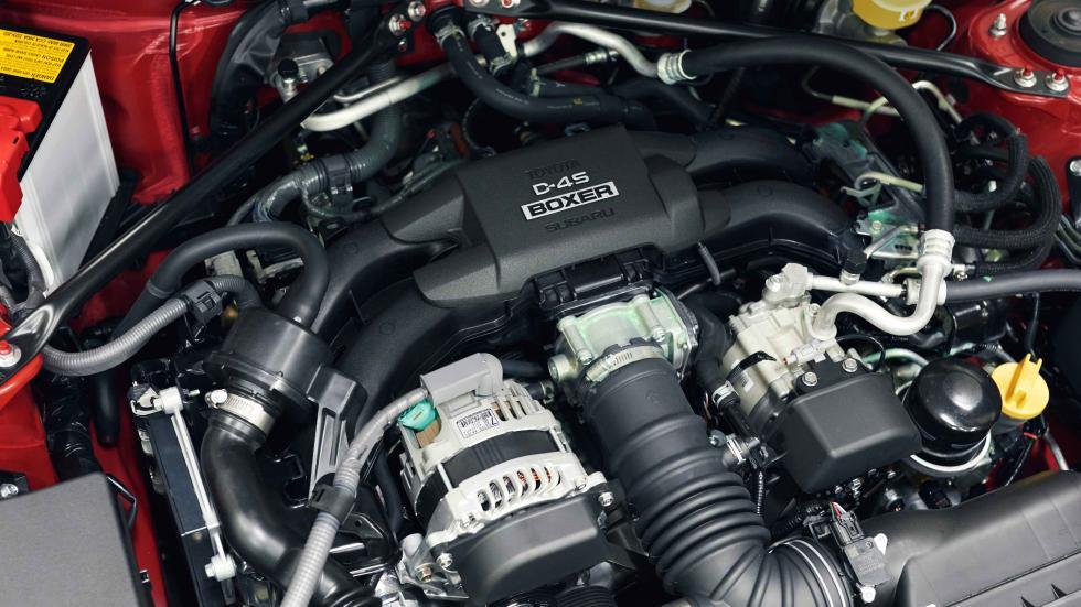 prueba nuevo toyota GT86 2017 motor