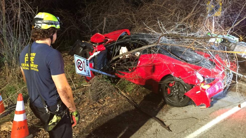 Accidente Ferrari 458 Speciale