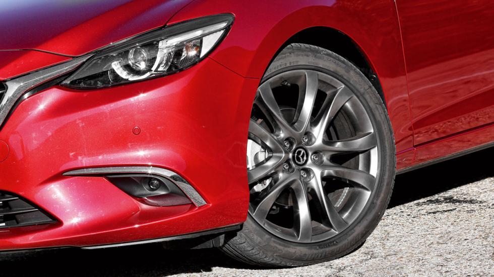 Comparativa Mazda 6 Wagon llanta