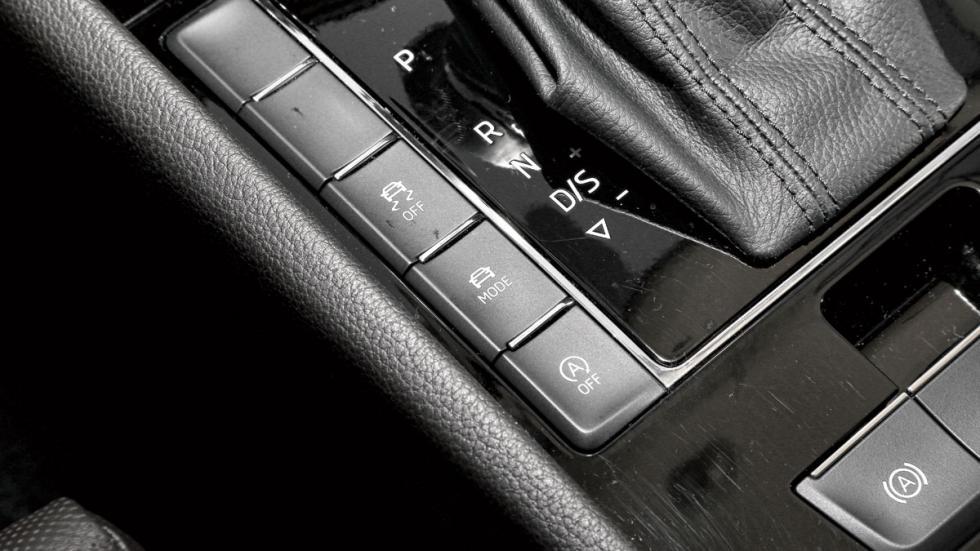 Comparativa Skoda Superb Combi botones