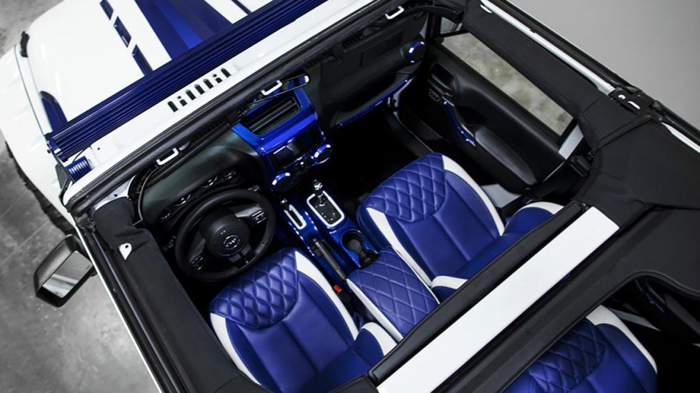 Jeep Wrangler Prestige Intimidator habitaculo