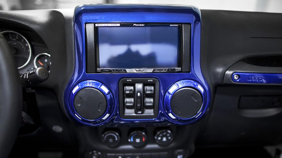 Jeep Wrangler Prestige Intimidator salpicadero