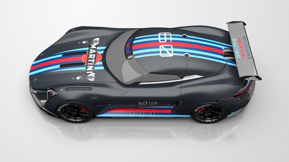 Porsche 939 RSR techo