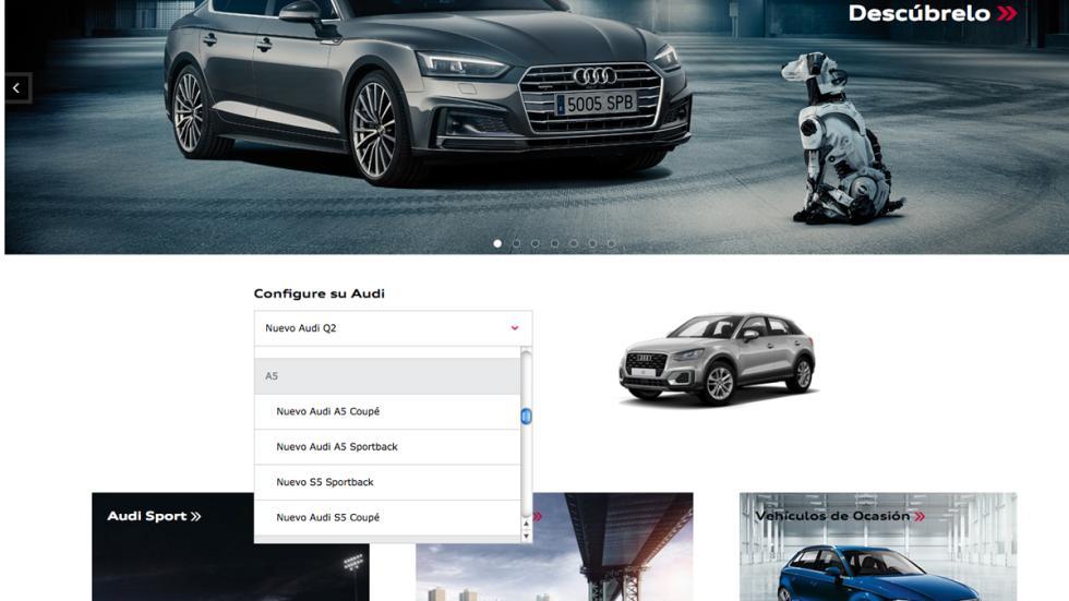 Elige en el configurador el modelo y el color que deseas.