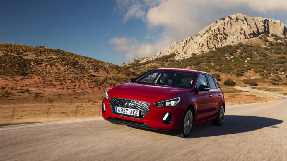 Hyundai i30 2017 rojo