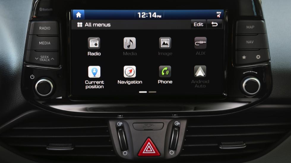 Hyundai i30 2017 pantalla