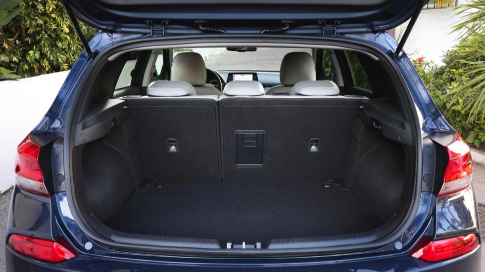 Hyundai i30 2017 maletero