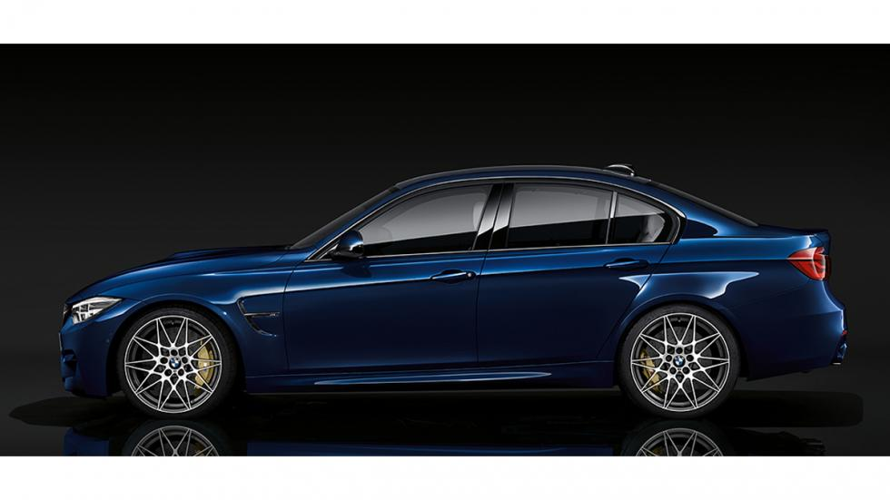 BMW M3 2017 lateral