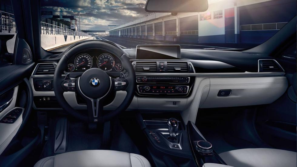BMW M3 2017 habitáculo