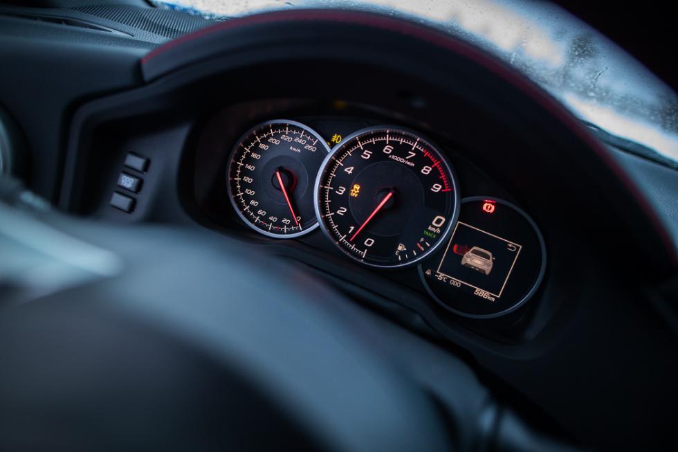 Subaru BRZ 2017 instrumentación
