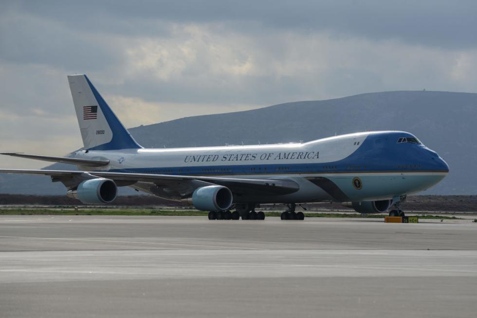 ... y ahora, también, el Air Force One.