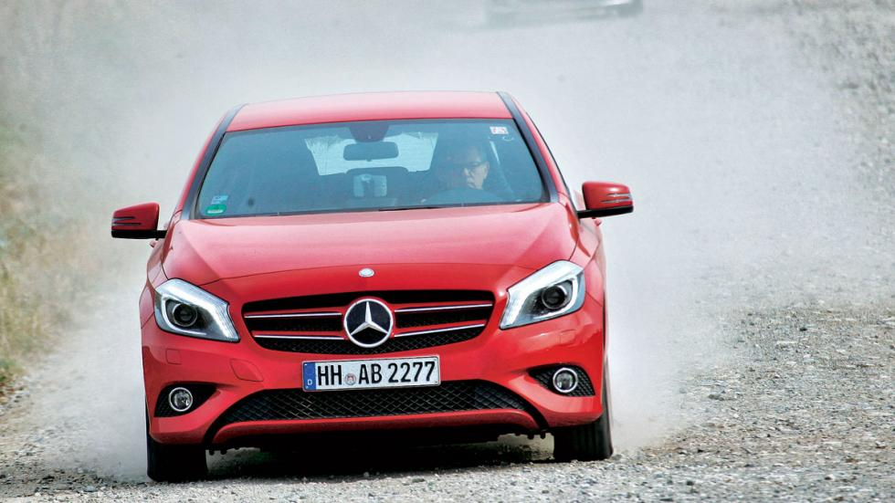 Test 200.000 km  Mercedes Clase A frontal
