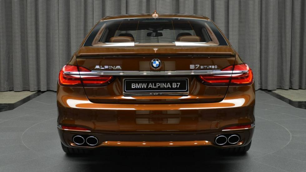 Alpina B7 Individual trasera