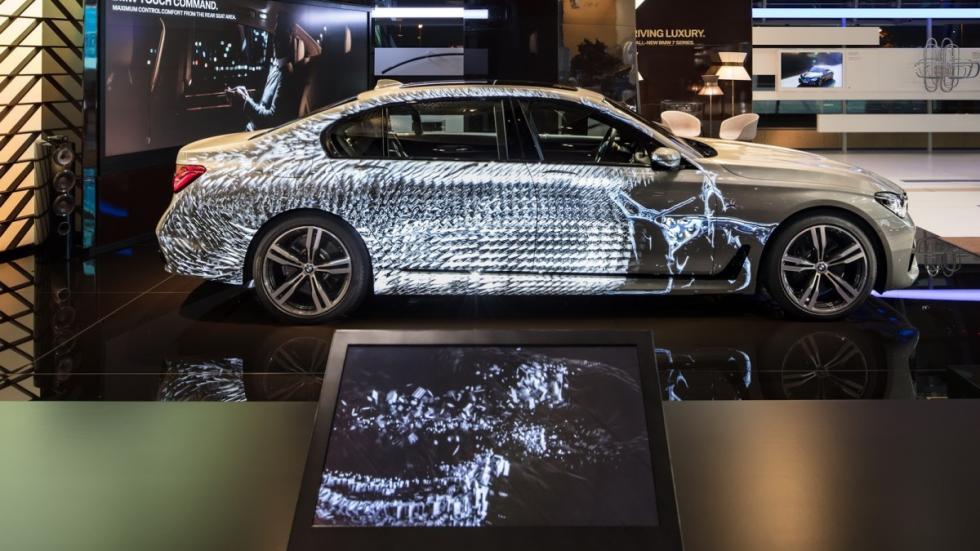 BMW Serie 7 experiencia interactiva