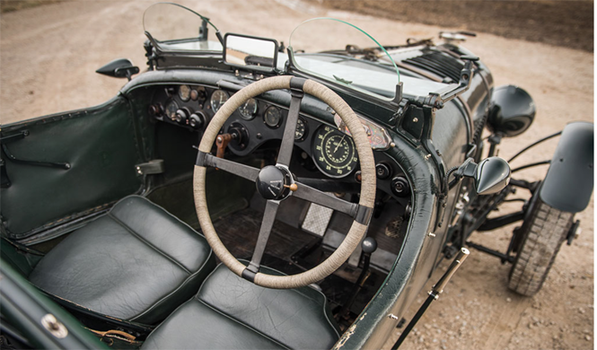 bentley 1928 interior