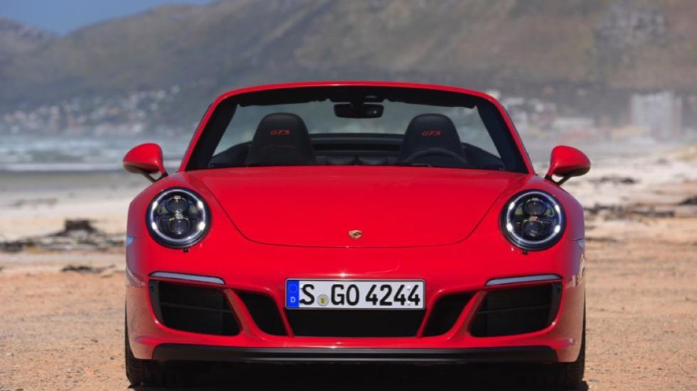 Porsche 911 Carrera GTS Cabriolet 2017 frontal