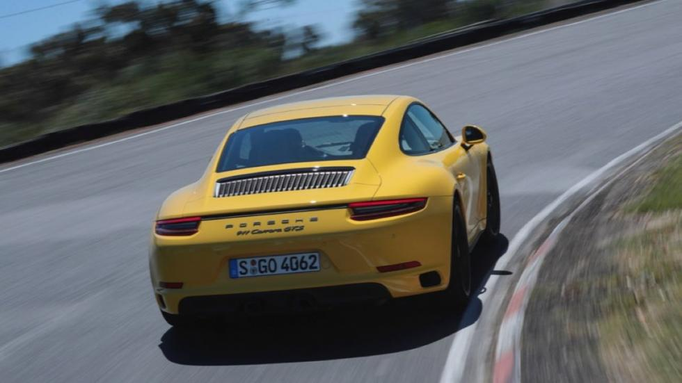 Porsche 911 Carrera GTS Coupe 2017 trasera