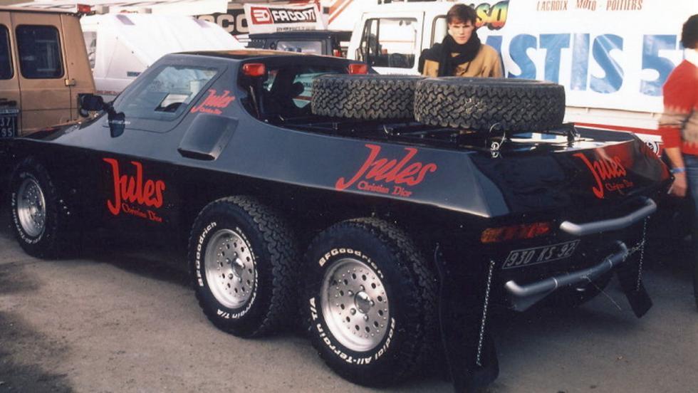 El Jules II Proto 6x4 solo duró tres etapas en el Dakar 1984