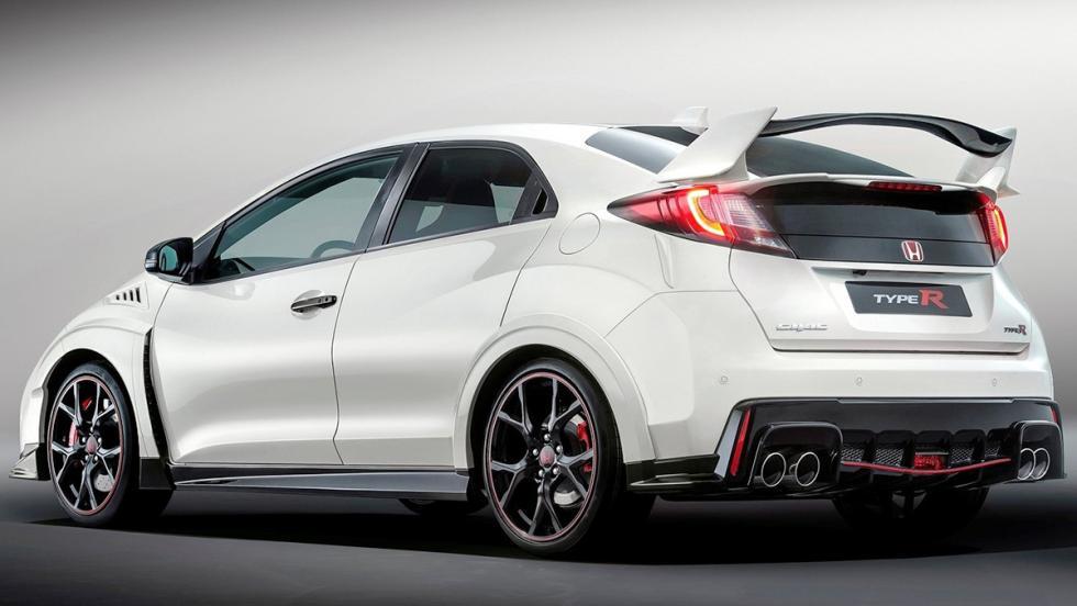 Los mejores coches por calidad-precio de 2017: Honda Civic Type R