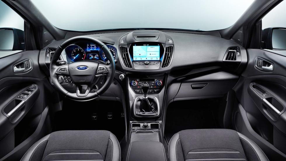 Rivales del nuevo Tiguan 2017 - Ford Kuga 2017