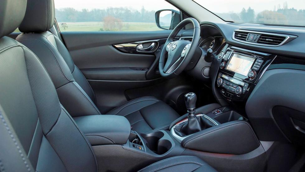 Rivales del nuevo Tiguan 2017 - Nissan Qashqai