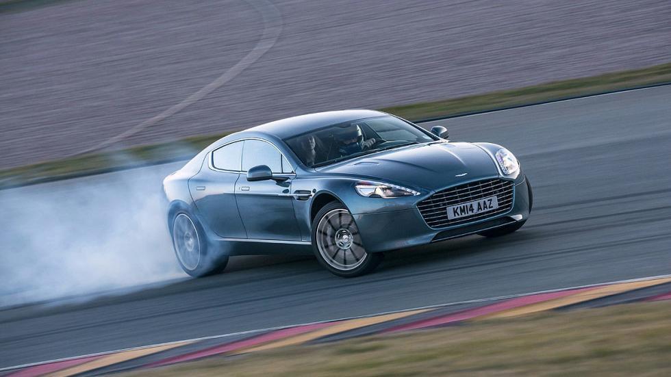 36: Aston Martin Rapide S. 0-200 km/h: 13,9 s.