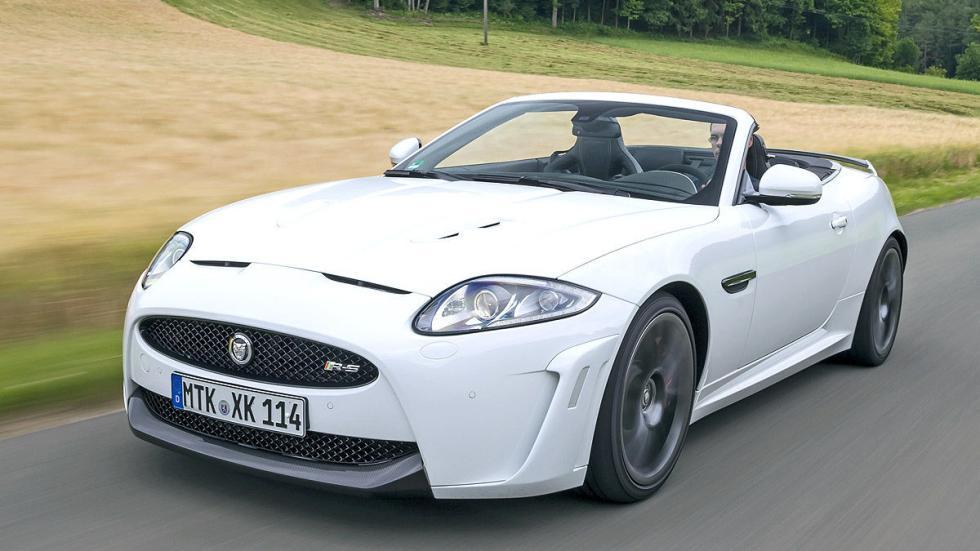 29: Jaguar XKR-S Cabriolet.  0-200 km/h: 13,3 s.
