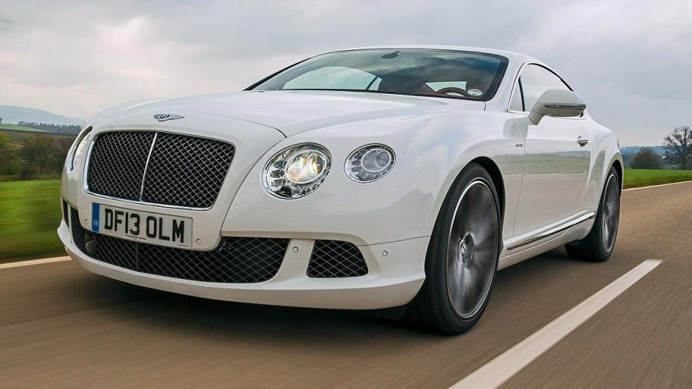 28: Bentley Continental GT Speed. 0-200 km/h: 13,2 s.