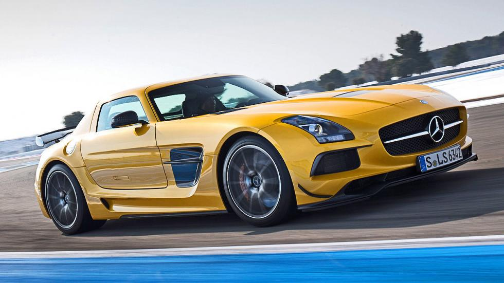 5: Mercedes SLS AMG Black Series. 0-200 km/h: 10,6 s.
