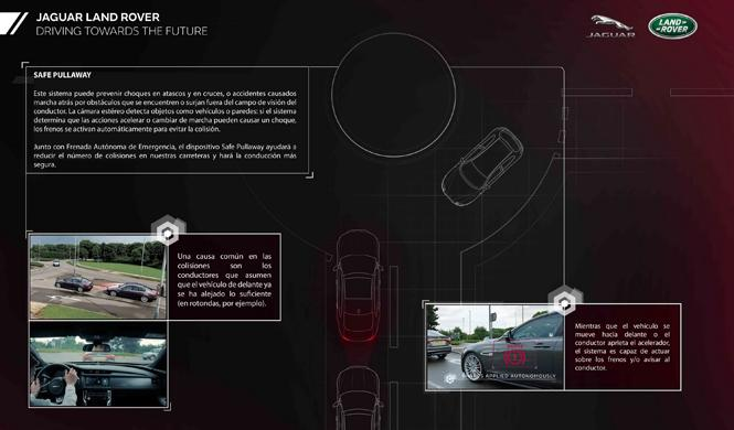 jaguar land rover flota semiautonoma reino unido safe pullaway