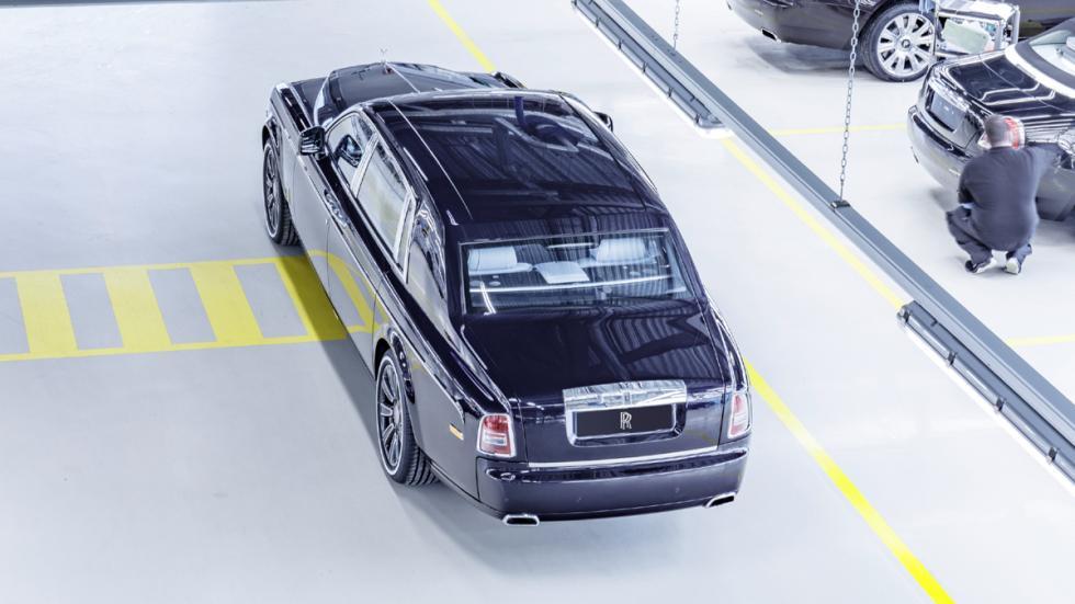 último Rolls-Royce Phantom VII fabricado zaga
