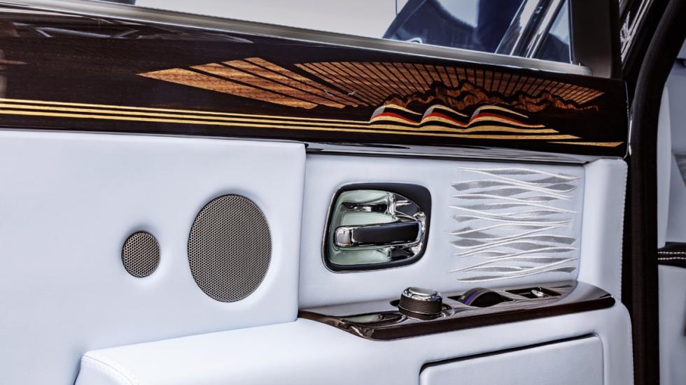 último Rolls-Royce Phantom VII fabricado detalle puerta