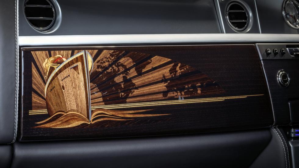 último Rolls-Royce Phantom VII fabricado detalle salpicadero