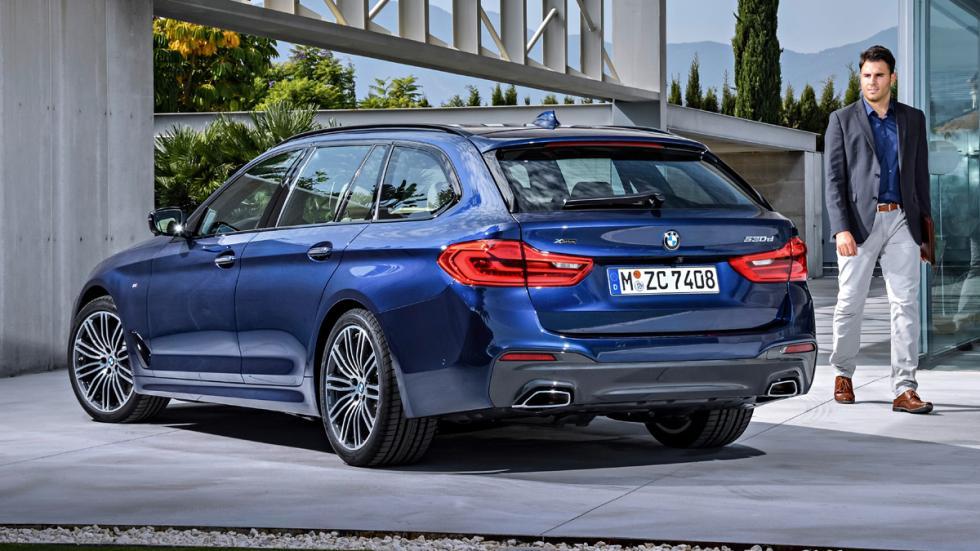 BMW Serie 5 Touring 2017 zaga