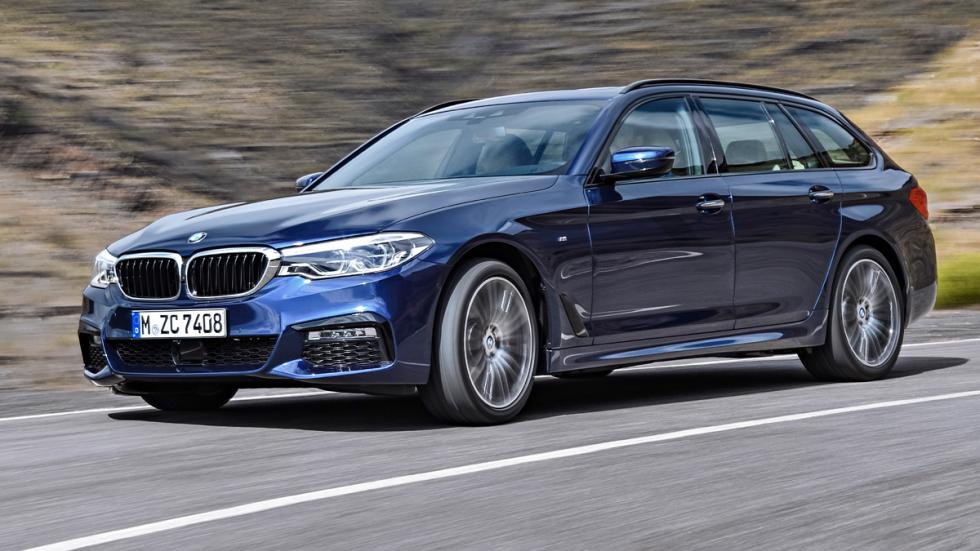 BMW Serie 5 Touring 2017 delantera