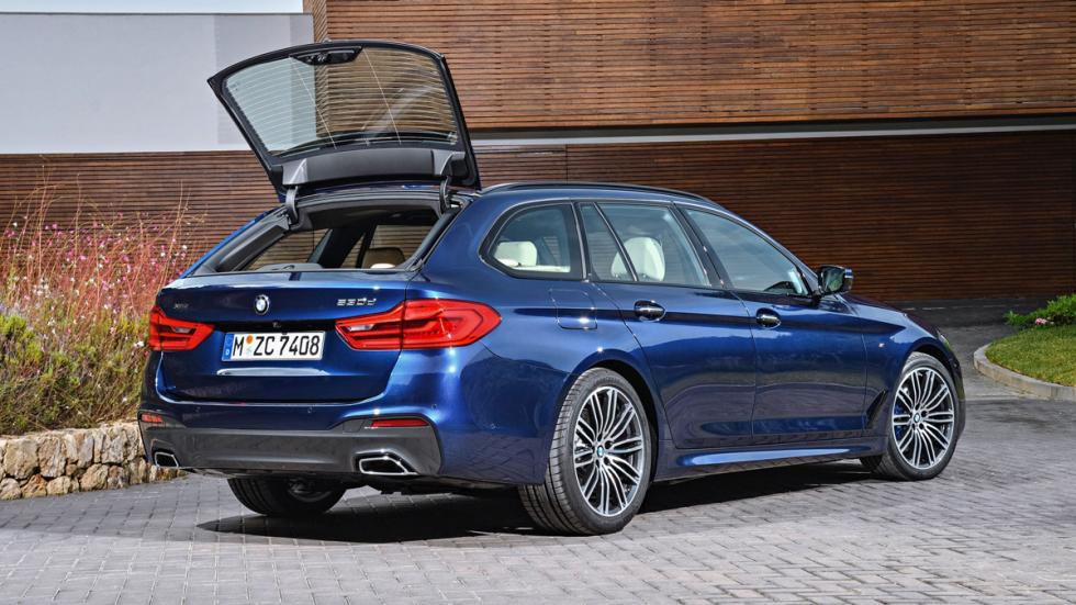 BMW Serie 5 Touring 2017 trasera