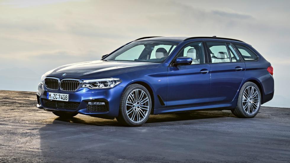 BMW Serie 5 Touring 2017 estática delantera