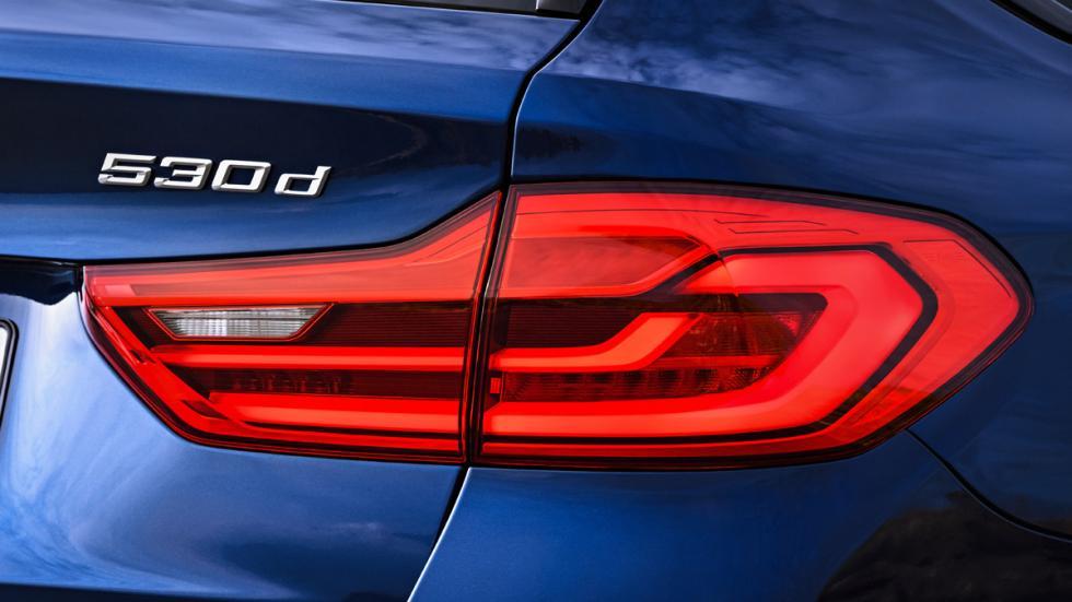 BMW Serie 5 Touring 2017 detalle piloto