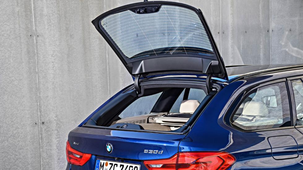 BMW Serie 5 Touring 2017 detalle maletero