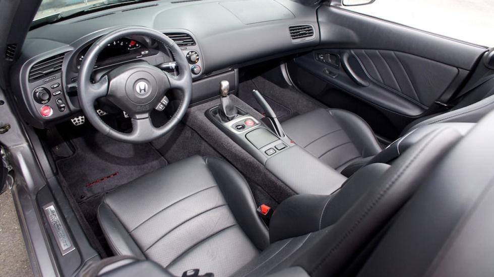 venta Honda S2000 habitáculo