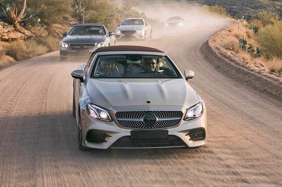 Prueba: nos subimos al Mercedes Clase E Cabrio 2017