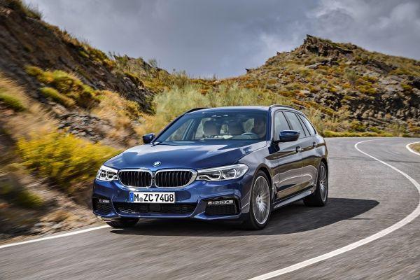El nuevo BMW Serie 5 Touring, en el Salón de Ginebra 2017.