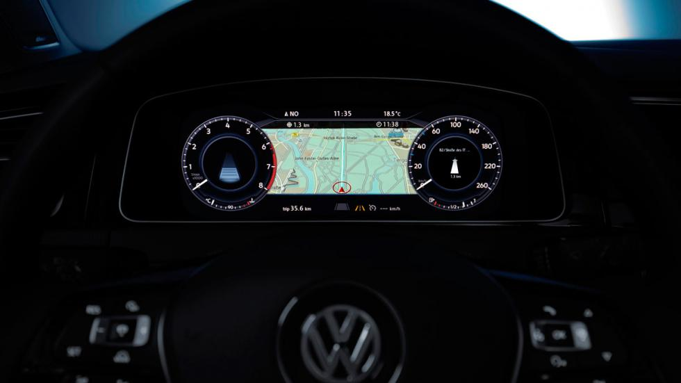Volkswagen Golf 2017 active info display