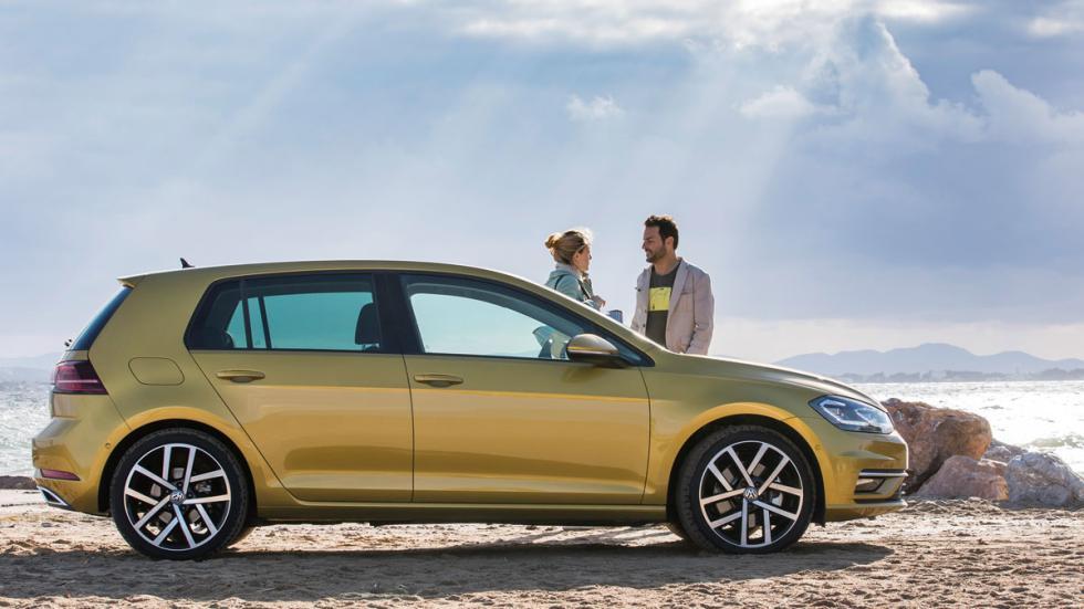 Volkswagen Golf 2017 perfil