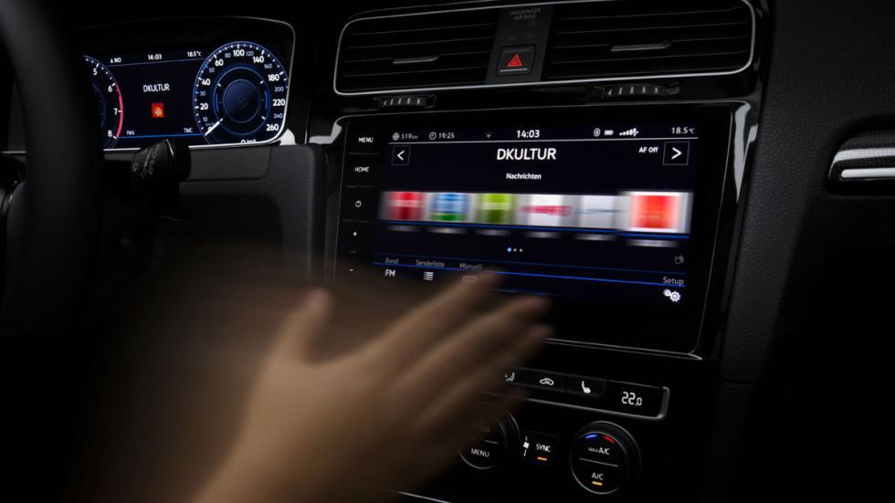 Volkswagen Golf 2017 control gestual
