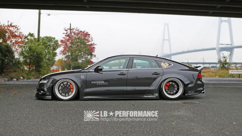 Audi A7 Sportback by Liberty Walk
