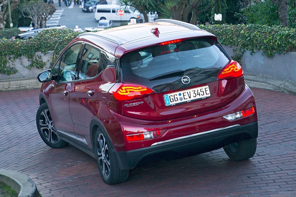Prueba del nuevo Opel Ampera-e 2017