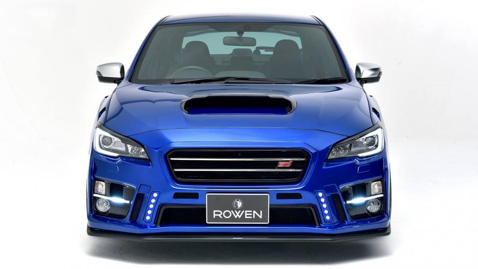 Subaru WRX STI Rowen International morro